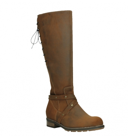 wolky long boots 04433 belmore 45410 tobacco suede_4