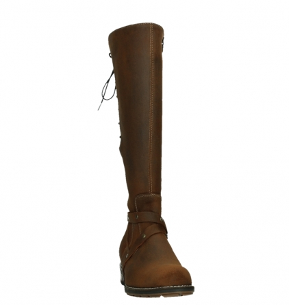 wolky long boots 04433 belmore 45410 tobacco suede_6
