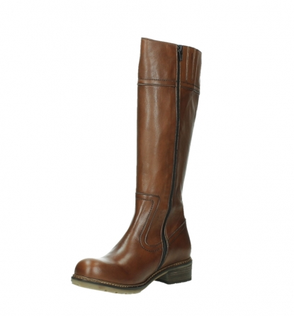 wolky long boots 04477 moher 32430 cognac leather_10