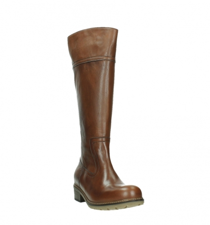 wolky long boots 04477 moher 32430 cognac leather_5