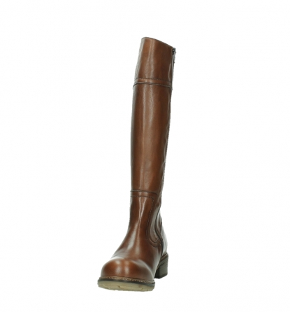 wolky long boots 04477 moher 32430 cognac leather_8