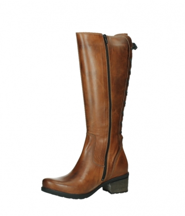 wolky long boots 07505 seoul 30430 cognac leather_11