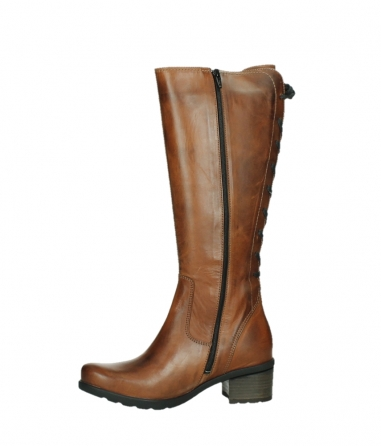 wolky long boots 07505 seoul 30430 cognac leather_12