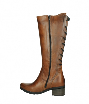 wolky long boots 07505 seoul 30430 cognac leather_14