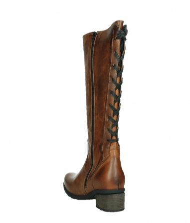 wolky long boots 07505 seoul 30430 cognac leather_17