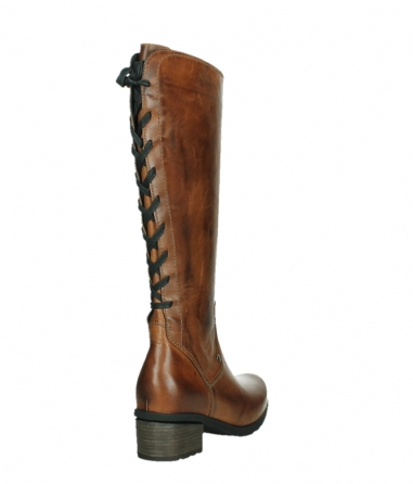 wolky long boots 07505 seoul 30430 cognac leather_21