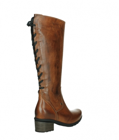 wolky long boots 07505 seoul 30430 cognac leather_22