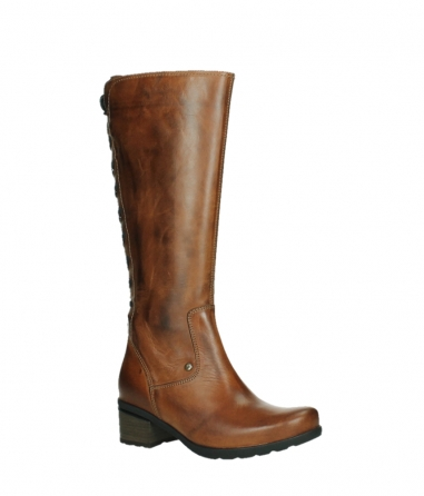 wolky long boots 07505 seoul 30430 cognac leather_3