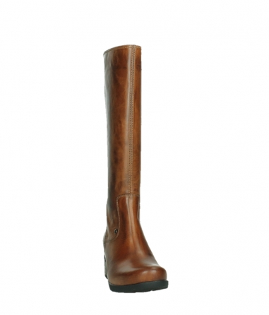 wolky long boots 07505 seoul 30430 cognac leather_6