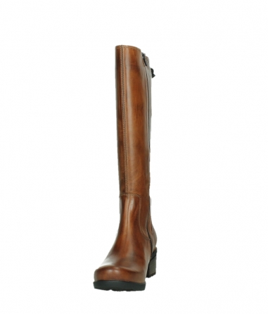 wolky long boots 07505 seoul 30430 cognac leather_8