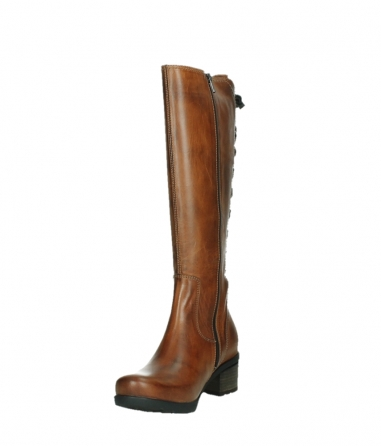wolky long boots 07505 seoul 30430 cognac leather_9