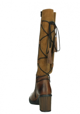 wolky long boots 08062 atasu 34430 cognac leather with suede_18