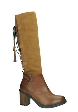 wolky long boots 08062 atasu 34430 cognac leather with suede_2
