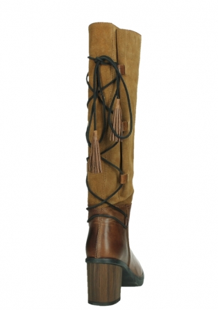 wolky long boots 08062 atasu 34430 cognac leather with suede_20