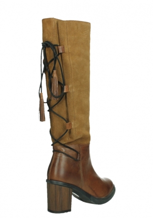 wolky long boots 08062 atasu 34430 cognac leather with suede_22