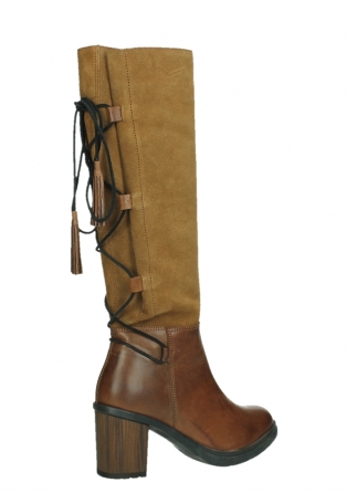 wolky long boots 08062 atasu 34430 cognac leather with suede_23