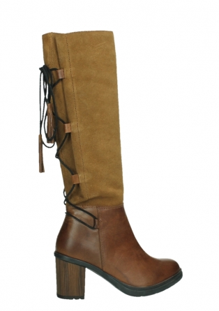 wolky long boots 08062 atasu 34430 cognac leather with suede_24