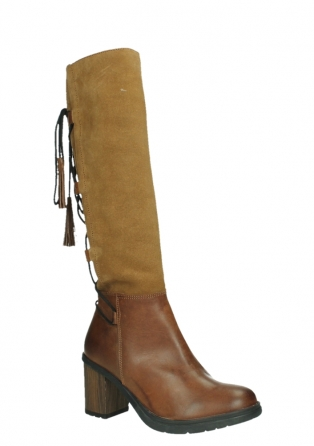 wolky long boots 08062 atasu 34430 cognac leather with suede_3