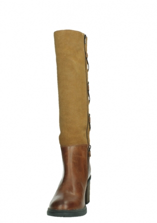 wolky long boots 08062 atasu 34430 cognac leather with suede_8