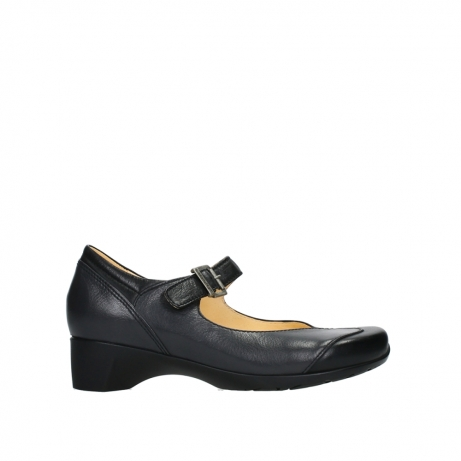 wolky mary janes 07808 opal 91000 black leather
