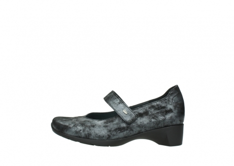 wolky court shoes 07813 ruby 10000 black anthracite nubuck_1