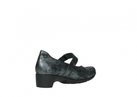 wolky court shoes 07813 ruby 10000 black anthracite nubuck_10