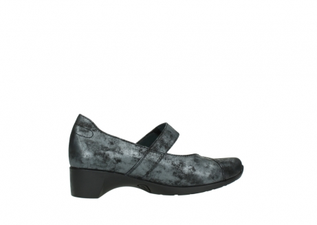 wolky court shoes 07813 ruby 10000 black anthracite nubuck_12