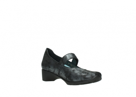 wolky court shoes 07813 ruby 10000 black anthracite nubuck_16