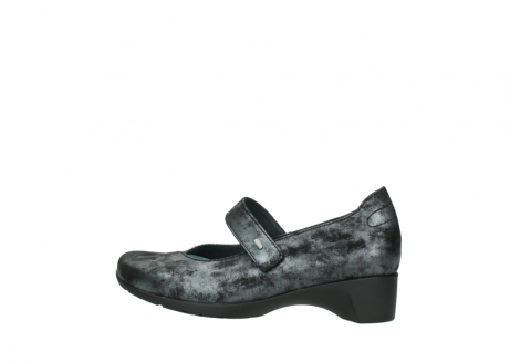 wolky court shoes 07813 ruby 10000 black anthracite nubuck_2