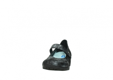 wolky court shoes 07813 ruby 10000 black anthracite nubuck_20