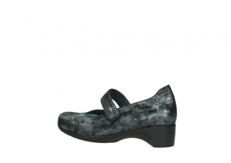 wolky court shoes 07813 ruby 10000 black anthracite nubuck_3