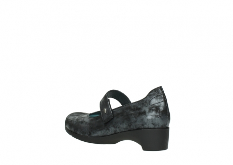 wolky court shoes 07813 ruby 10000 black anthracite nubuck_4