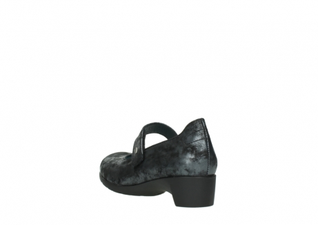 wolky court shoes 07813 ruby 10000 black anthracite nubuck_5