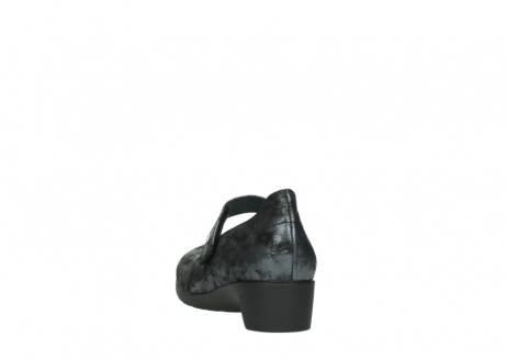 wolky court shoes 07813 ruby 10000 black anthracite nubuck_6