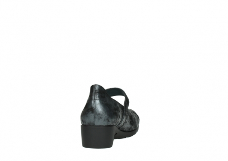 wolky court shoes 07813 ruby 10000 black anthracite nubuck_8