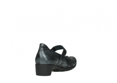 wolky court shoes 07813 ruby 10000 black anthracite nubuck_9