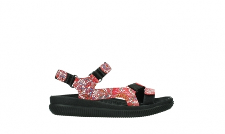wolky sandalen 00710 energy lady 42500 red mosaic suede_1