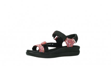 wolky sandalen 00710 energy lady 42500 red mosaic suede_11