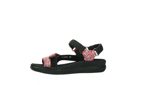 wolky sandalen 00710 energy lady 42500 red mosaic suede_12
