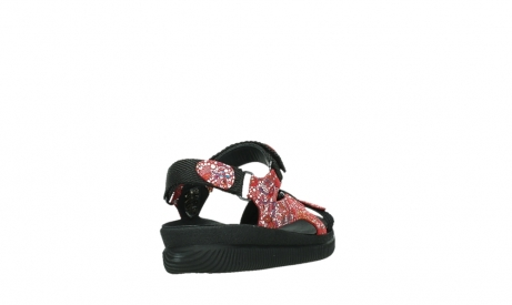wolky sandalen 00710 energy lady 42500 red mosaic suede_21