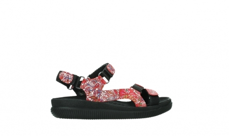 wolky sandalen 00710 energy lady 42500 red mosaic suede_24
