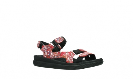 wolky sandalen 00710 energy lady 42500 red mosaic suede_3