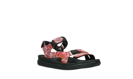 wolky sandalen 00710 energy lady 42500 red mosaic suede_4