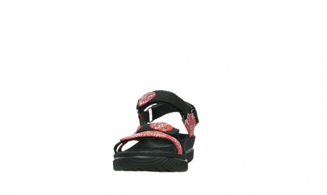 wolky sandalen 00710 energy lady 42500 red mosaic suede_8