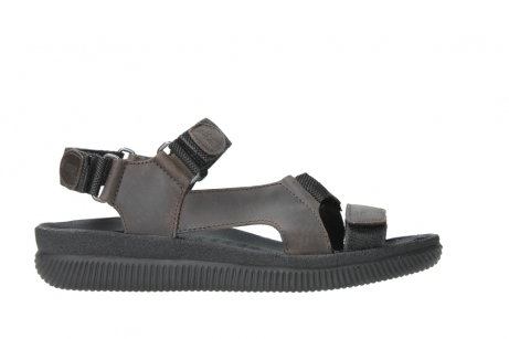 wolky heren sandalen 00711 energy men 50300 brown greased leather_1