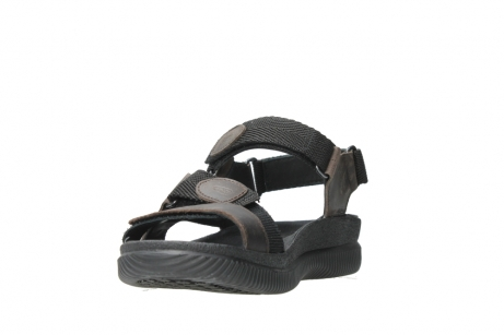 wolky heren sandalen 00711 energy men 50300 brown greased leather_3