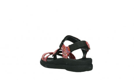 wolky sandalen 00720 action lady 42500 red mosaic suede_17