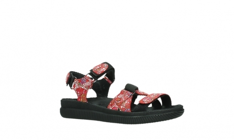 wolky sandalen 00720 action lady 42500 red mosaic suede_3