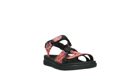 wolky sandalen 00720 action lady 42500 red mosaic suede_5