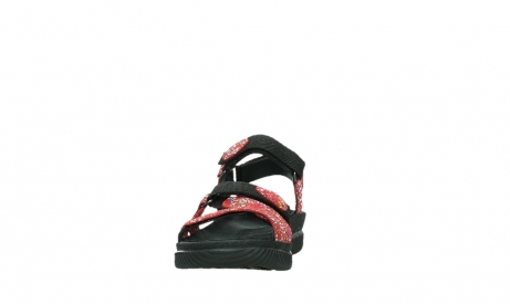 wolky sandalen 00720 action lady 42500 red mosaic suede_8